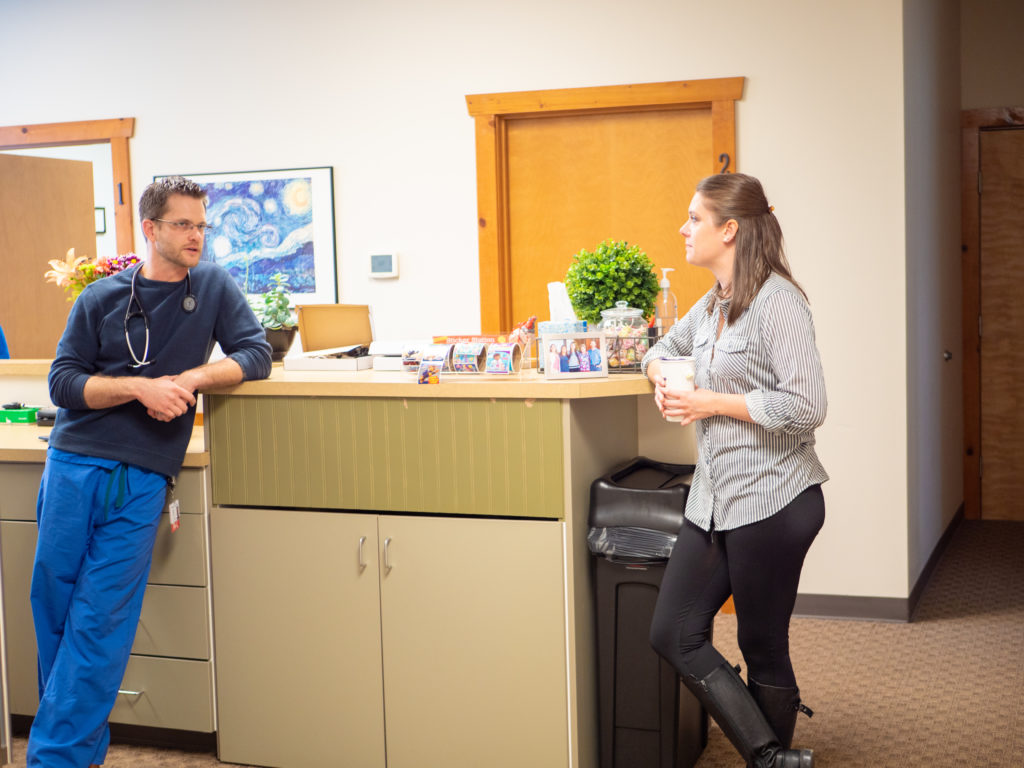 Lisa Montland and Brian Hiller Enumclaw Family Medicine